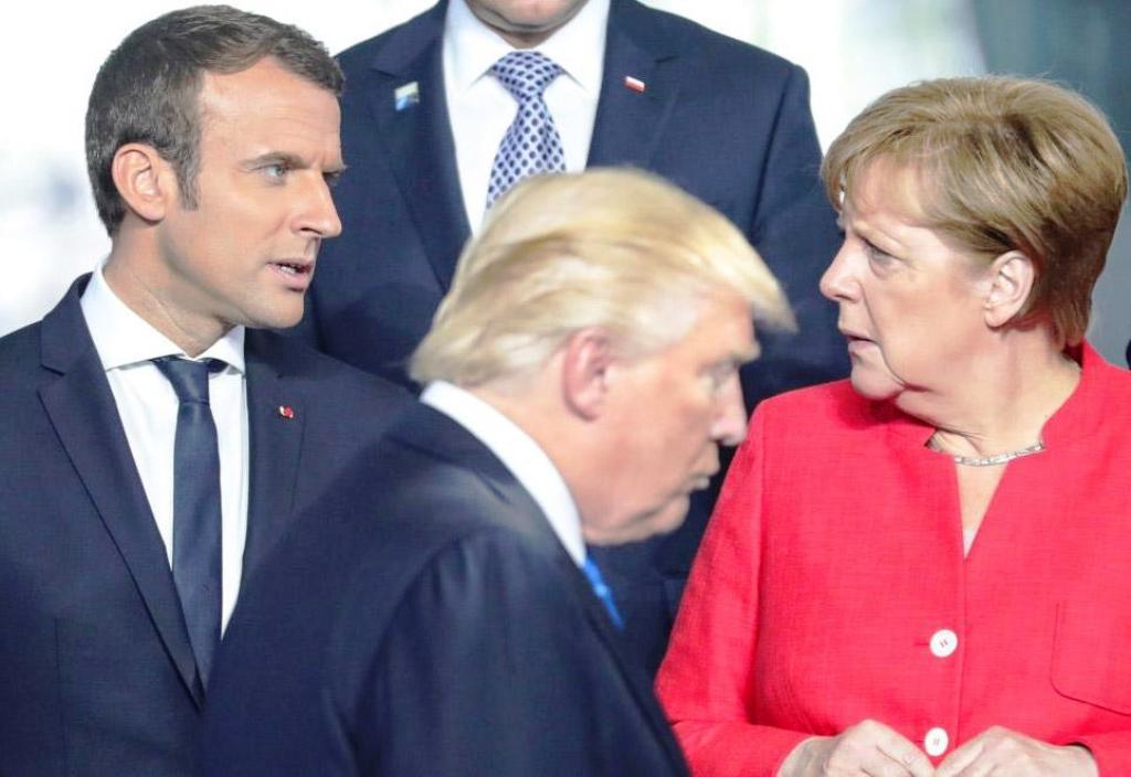 دفاع سران فرانسه و آلمان از برجام