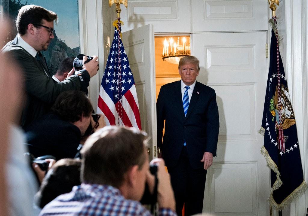نیویورک تایمز: ۵ دروغ ترامپ درباره ایران در سخنرانی خروج از برجام