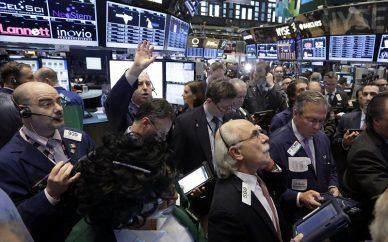 صعود بورس والاستریت در روز افزایش بهای طلا