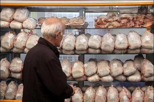 قیمت مرغ در خردهفروشیها ۷۷۰۰ تومان/محدودیتی در عرضه وجود ندارد
