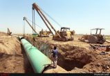 عملیات احداث خط دوم انتقال آب غدیر به آبادان و خرمشهر