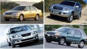 ۱۰ سال پیش با ۳۰ تا ۳۶ میلیون تومان چه خودروهایی میتوانستید بخرید؟ + عکس