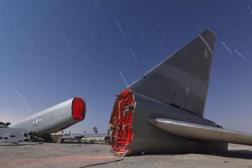 گورستان هواپیما در کالیفرنیا آمریکا (عکس)