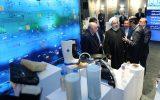 بازدید رئیسجمهور و وزیر نفت از نمایشگاه پتروشیمی 