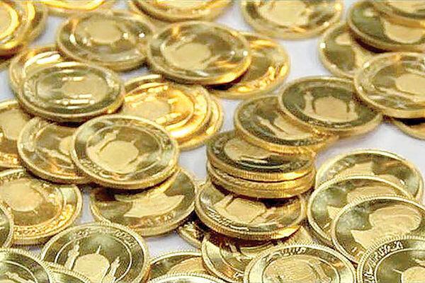 قیمت سکه ۱۰ آبان ۱۳۹۹ حدود ۵۰۰ هزار تومان کاهش یافت
