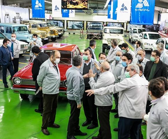 نمایشگاه خودروهای کلاسیک پارس خودرو افتتاح شد (+ عکس)