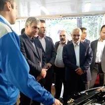حضور تخصصی ایران خودرو در نمایشگاه کالای ایرانی در کرمانشاه