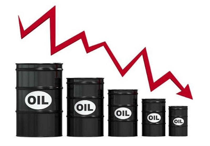 سقوط دو درصدی قیمت نفت