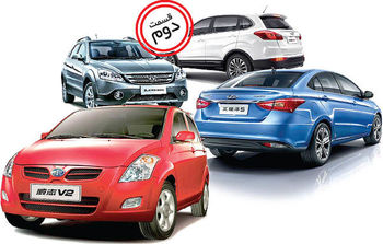 سرنوشت خودروهای چینی در بازار ایران