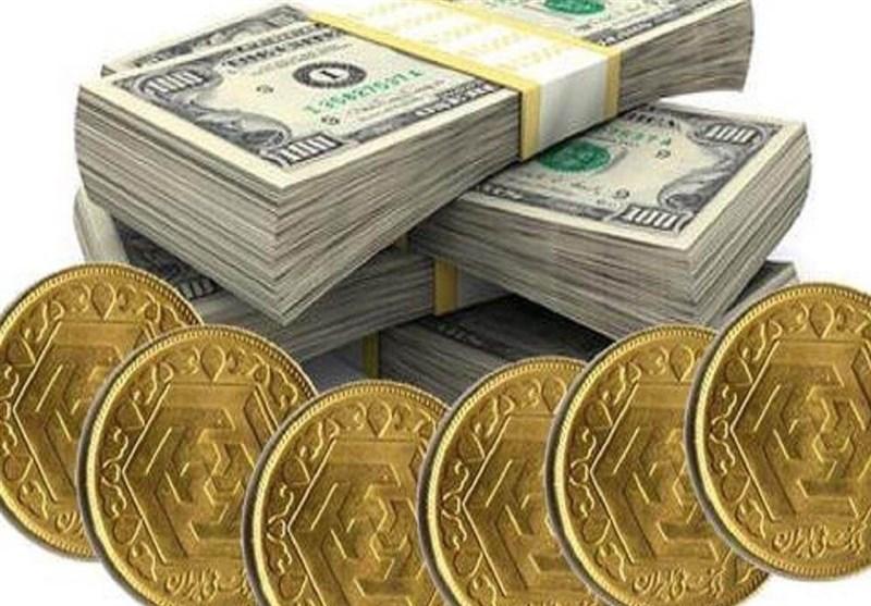 قیمت طلا، قیمت دلار، قیمت سکه و قیمت ارز امروز ۹۷/۰۵/۰۶