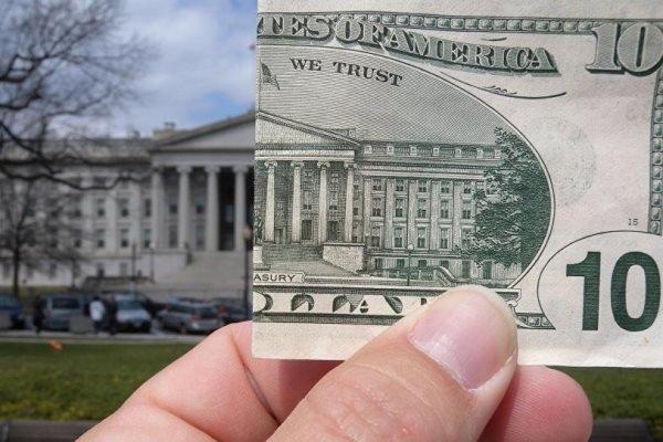 کسری بودجه آمریکا به یک تریلیون دلار رسید