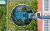 خانه صورتی با یک ورودی متفاوت! (+عکس)